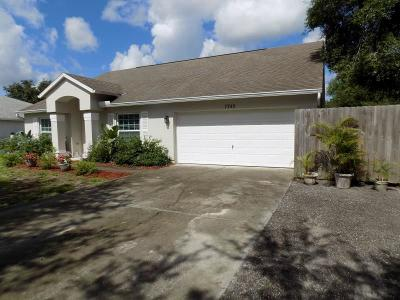 Vero Beach Single Family Home For Sale: 7745 105th Avenue