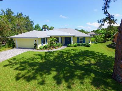 Sebastian Single Family Home For Sale: 644 Concha Drive