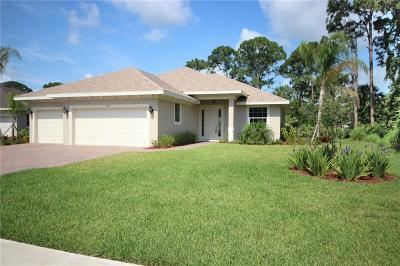 Vero Beach Single Family Home For Sale: 6625 49th Court