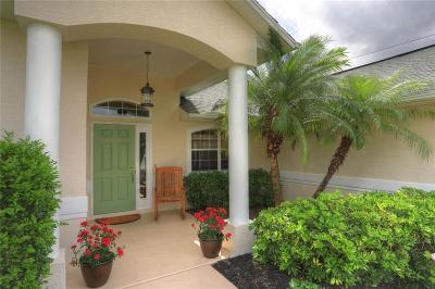 Sebastian Single Family Home For Sale: 1082 Croquet Lane