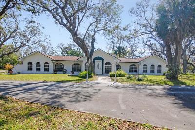 Melbourne, Melbourne Beach Single Family Home For Sale: 3275 Villa Espana Trail