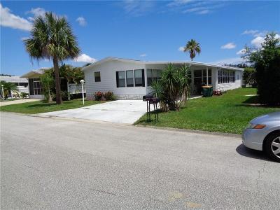 Sebastian Single Family Home For Sale: 418 Papaya Circle