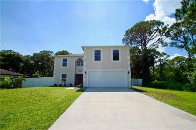 Melbourne, Melbourne Beach Single Family Home For Sale: 946 NW Itzehoe Avenue