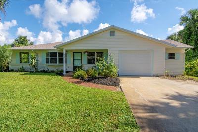 Sebastian FL Single Family Home For Sale: $184,900