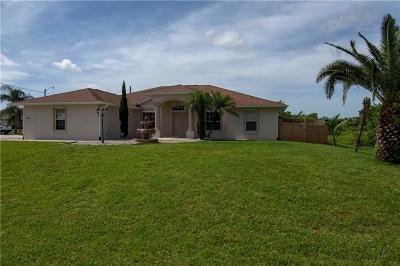 Sebastian FL Single Family Home For Sale: $279,900