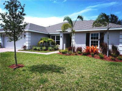 Oaks Of Vero Single Family Home For Sale: 1301 Scarlet Oak Circle