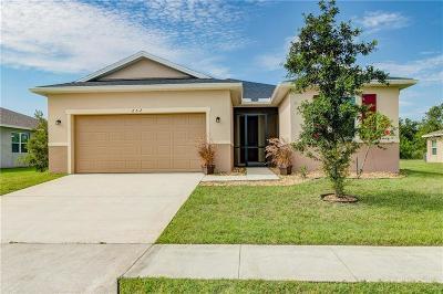 Sebastian Single Family Home For Sale: 252 Barbossa Drive