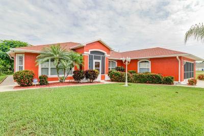 Sebastian Single Family Home For Sale: 867 Landsdowne Drive