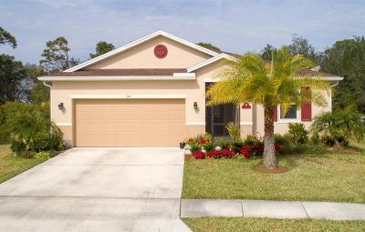 Sebastian Single Family Home For Sale: 144 Port Royal Court