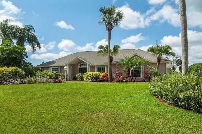 Vero Beach Single Family Home For Sale: 6408 55th