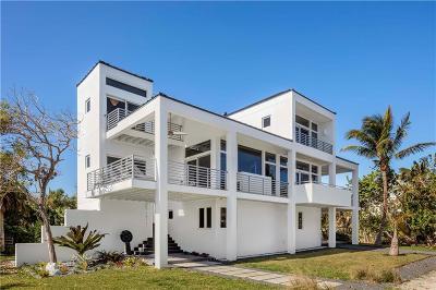 Vero Beach, Indian River Shores, Melbourne Beach, Sebastian, Palm Bay, Orchid Island, Micco, Indialantic, Satellite Beach Single Family Home For Sale: 1811 Sandpiper Road