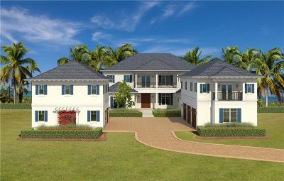 Vero Beach, Indian River Shores, Melbourne Beach, Sebastian, Palm Bay, Orchid Island, Micco, Indialantic, Satellite Beach Single Family Home For Sale: 9040 Rocky Point Drive
