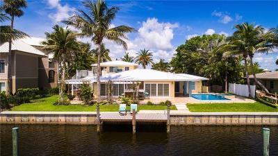 Vero Beach, Indian River Shores, Melbourne Beach, Sebastian, Palm Bay, Orchid Island, Micco, Indialantic, Satellite Beach Single Family Home For Sale: 2 Sailfish Road