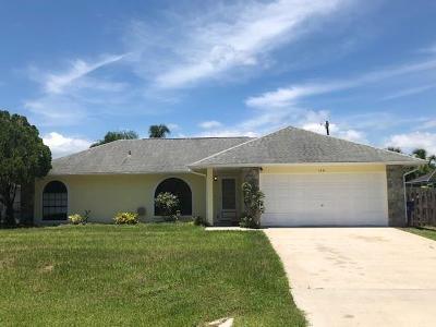 Sebastian Single Family Home For Sale: 1331 Whitmore Street