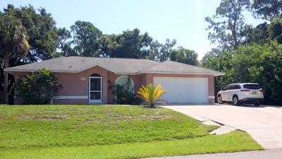 Sebastian Single Family Home For Sale: 1114 Croquet Lane