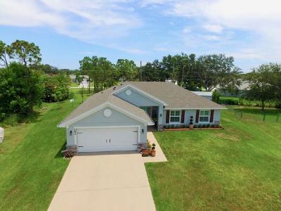 Sebastian FL Single Family Home For Sale: $267,900