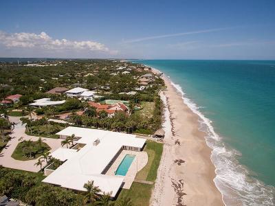 Vero Beach, Indian River Shores, Melbourne Beach, Sebastian, Palm Bay, Orchid Island, Micco, Indialantic, Satellite Beach Single Family Home For Sale: 2135 Porpoise Point Lane