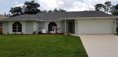 Sebastian FL Single Family Home For Sale: $249,900