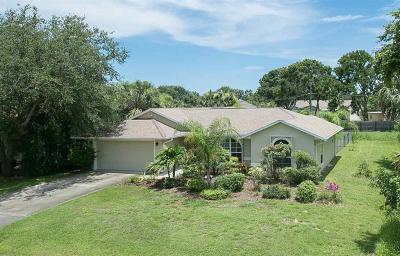 Sebastian Single Family Home For Sale: 1782 Lagoon Lane