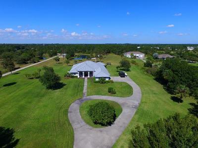 Vero Beach Single Family Home For Sale: 8600 8th Street