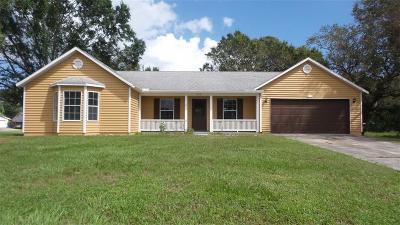 Sebastian Single Family Home For Sale: 853 Barber Street
