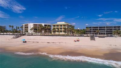 Vero Beach, Indian River Shores, Melbourne Beach, Sebastian, Palm Bay, Orchid Island, Micco, Indialantic, Satellite Beach Condo/Townhouse For Sale: 4121 Ocean Drive #401