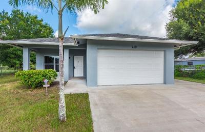 Vero Beach Single Family Home For Sale: 219 SW 26th Avenue