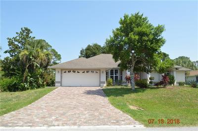 Sebastian FL Single Family Home For Sale: $214,900