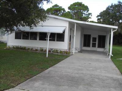 Sebastian Single Family Home For Sale: 1040 Sebastian Road