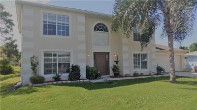 Sebastian FL Single Family Home For Sale: $264,000