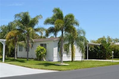 Sebastian Single Family Home For Sale: 9800 61st Terrace