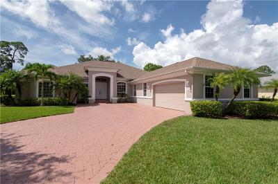 Vero Beach Single Family Home For Sale: 3995 SW Chablis Street