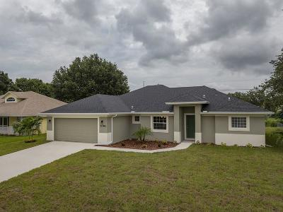 Sebastian Single Family Home For Sale: 1048 Landsdowne Drive