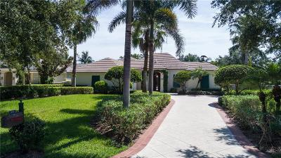 Vero Beach Single Family Home For Sale: 939 Orchid Point Way