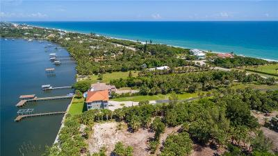 Melbourne, Melbourne Beach Single Family Home For Sale: 8150 Highway A1a