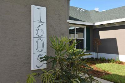Vero Beach Single Family Home For Sale: 1605 Baseline Drive