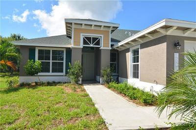 Vero Beach Single Family Home For Sale: 1603 Baseline Drive