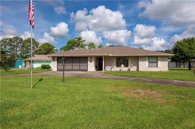 Sebastian Single Family Home For Sale: 107 La Playa Lane