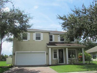 Sebastian Single Family Home For Sale: 107 Ashbury Boulevard