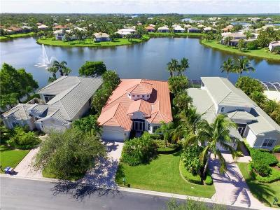 Vero Beach Single Family Home For Sale: 1204 Island Club