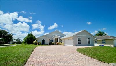 Sebastian Single Family Home For Sale: 950 George Street