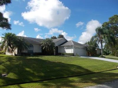 Sebastian Single Family Home For Sale: 488 Bywood Avenue