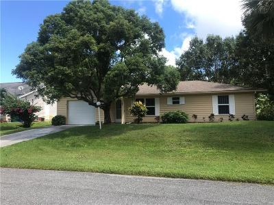 Sebastian Single Family Home For Sale: 1550 Cownie Lane