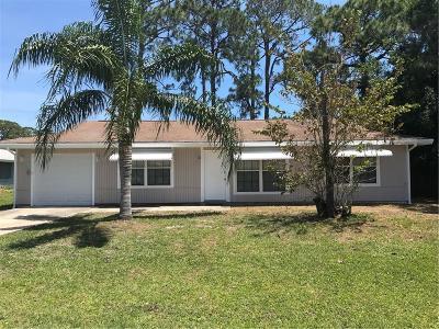 Sebastian Single Family Home For Sale: 355 Easy Street