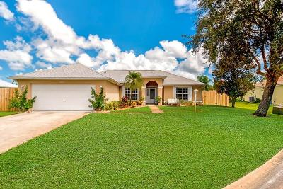 Vero Beach Single Family Home For Sale: 4734 51st Court