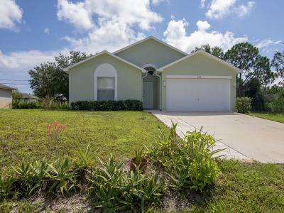 Vero Beach Single Family Home For Sale: 8366 98th Court