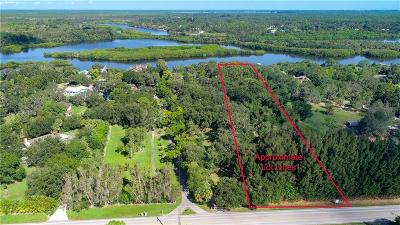 Vero Beach, Indian River Shores, Melbourne Beach, Melbourne, Sebastian, Palm Bay, Orchid Island, Micco, Indialantic, Satellite Beach Residential Lots & Land For Sale: 12511 Roseland Road