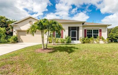 Sebastian FL Single Family Home For Sale: $275,000