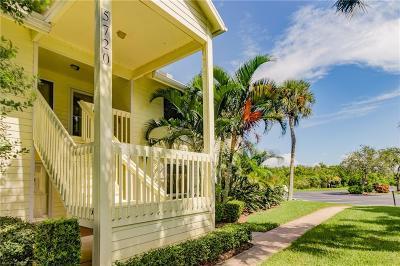 Sebastian Condo/Townhouse For Sale: 5720 Marina Drive #4