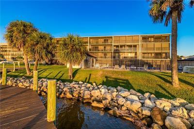 cocoa beach Condo/Townhouse For Sale: 3833 Banana River Boulevard #305